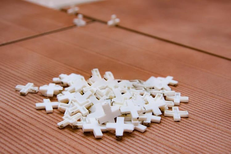 White Tile Spacers