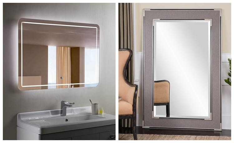 Bathroom vs Regular Mirror