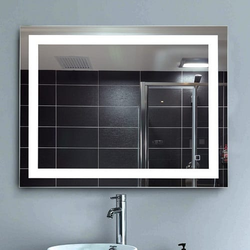 "LEVE 36""x28"" LED Backlit Mirror"
