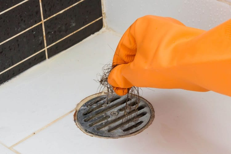 Cleaning Drain Clog