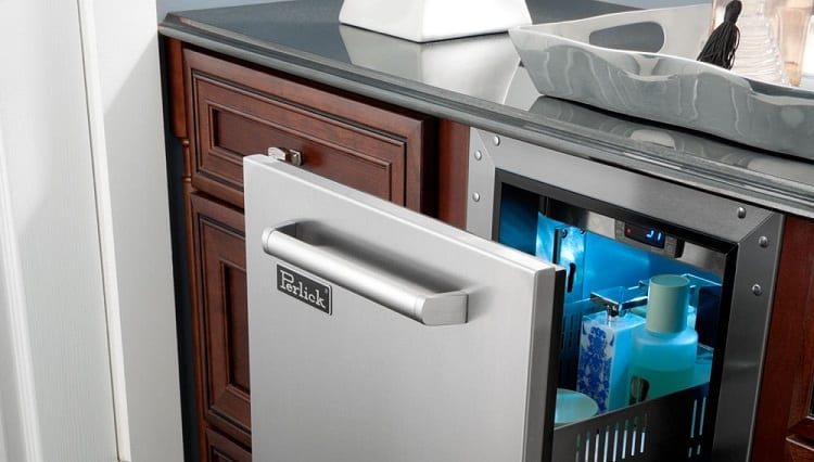 Refrigerated Cabinets for the Bathroom