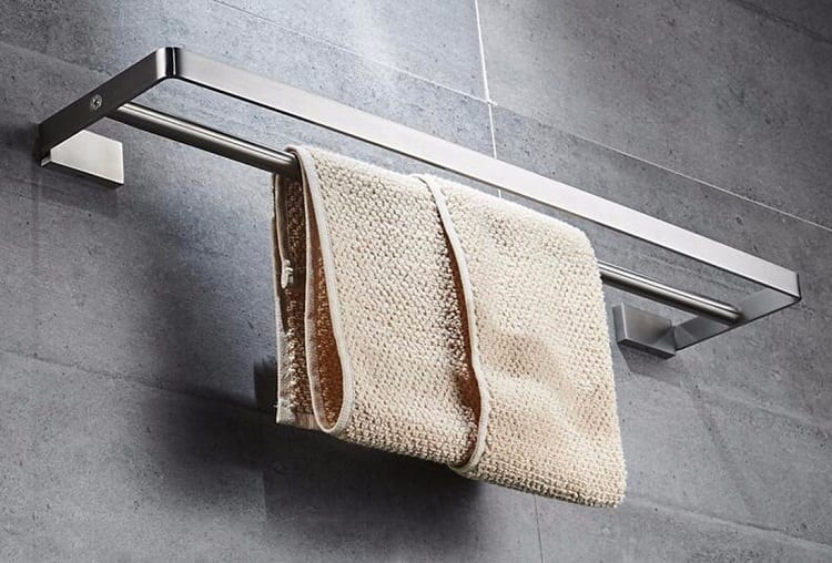 Towel On Holder